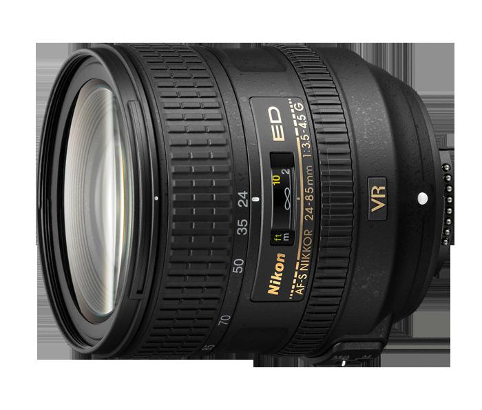 AF S NIKKOR 24 85mm f3.5-4.5 ed vr