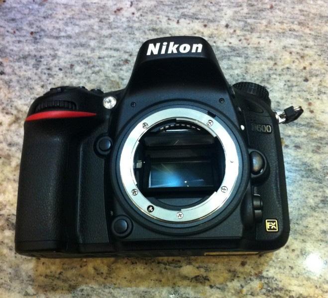 Rumors) Nikon D600 Price $1,850, coming in September