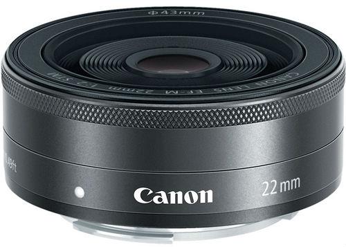 Canon EF-M 22mm 1:2 STM Lens
