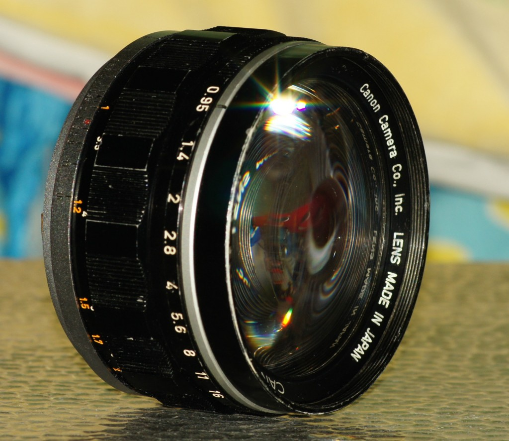 Canon S 50mm f0.95