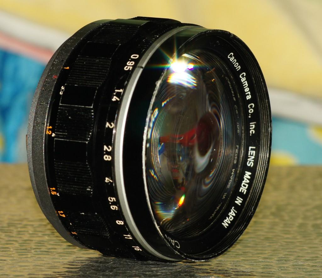 Canon S 50mm f0.95
