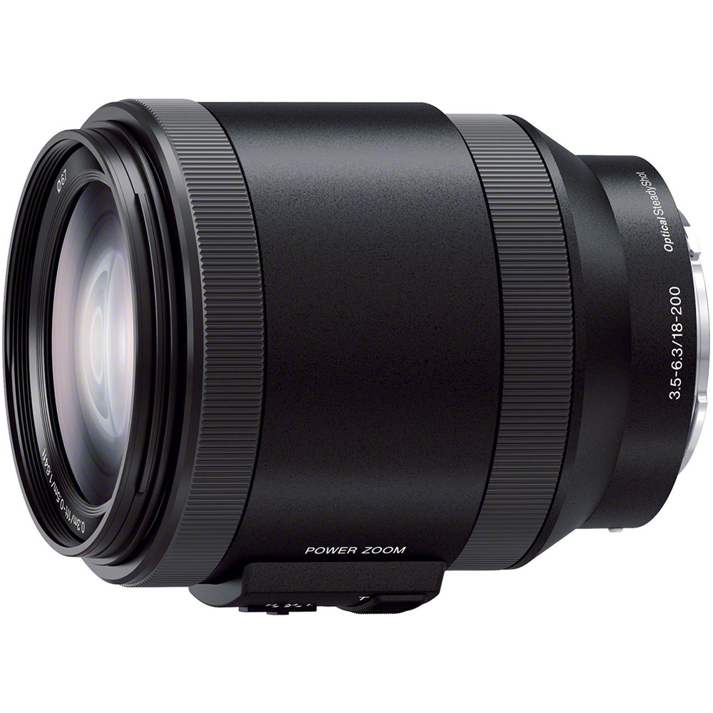 Sony 18-200mm f3.5-6.3 PZ OSS Alpha E-mount Lens