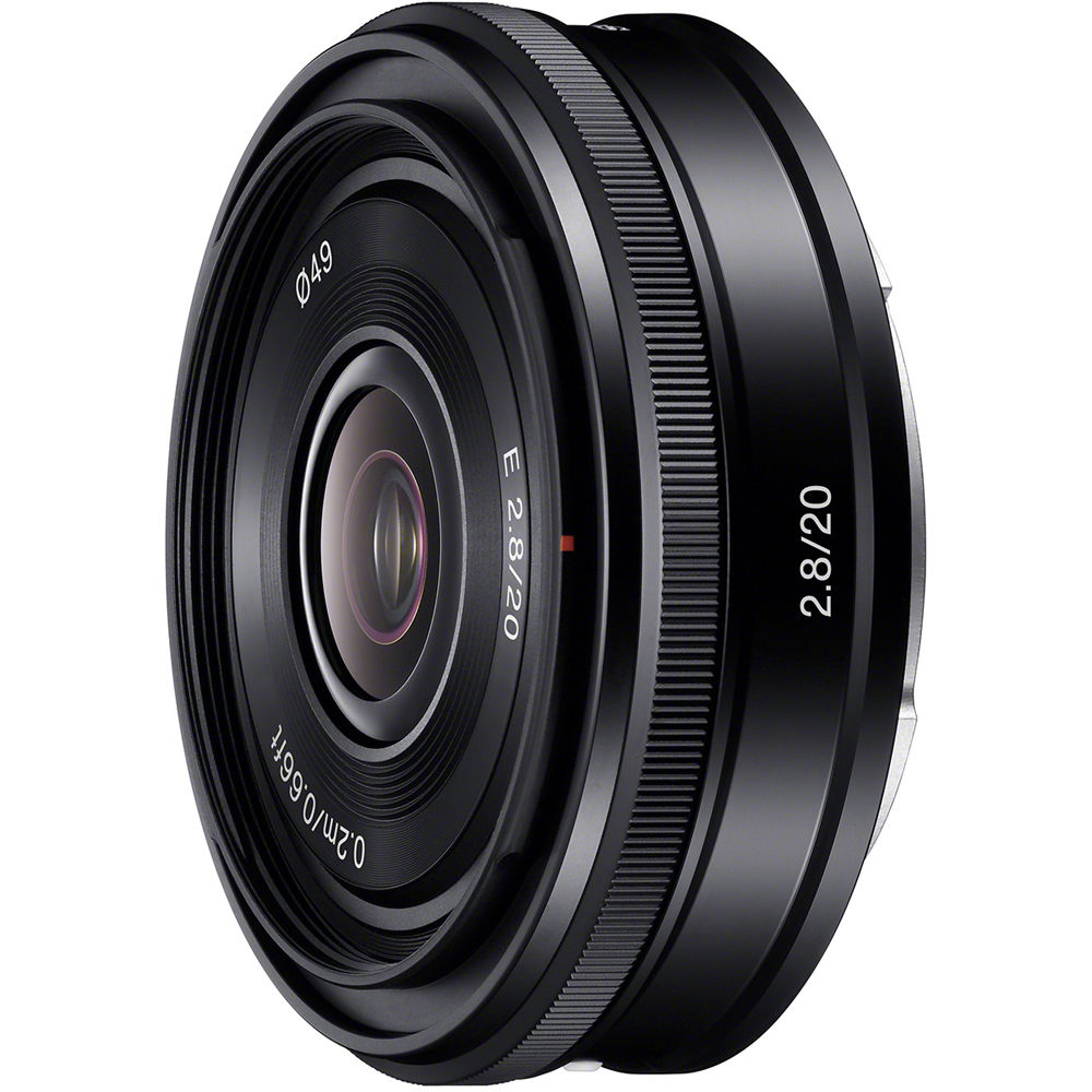 Sony 20mm f2.8 Alpha E-mount Pancake Lens