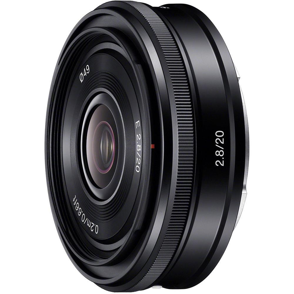 Sony 20mm f2.8 Alpha E-mount Pancake Lens