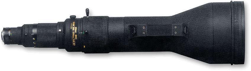 MF Nikkor Super telephoto Zoom lense 1200-1700mm f/5.6~8.0s P ED IF