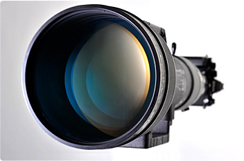 The lenses in the first lens group of the 1200-1700mm have apertures as large as 200 mm.