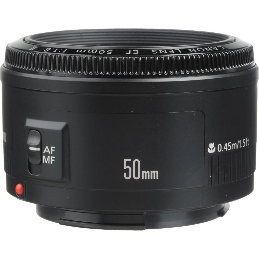 Canon EF 50mm f1.8 II Autofocus Lens