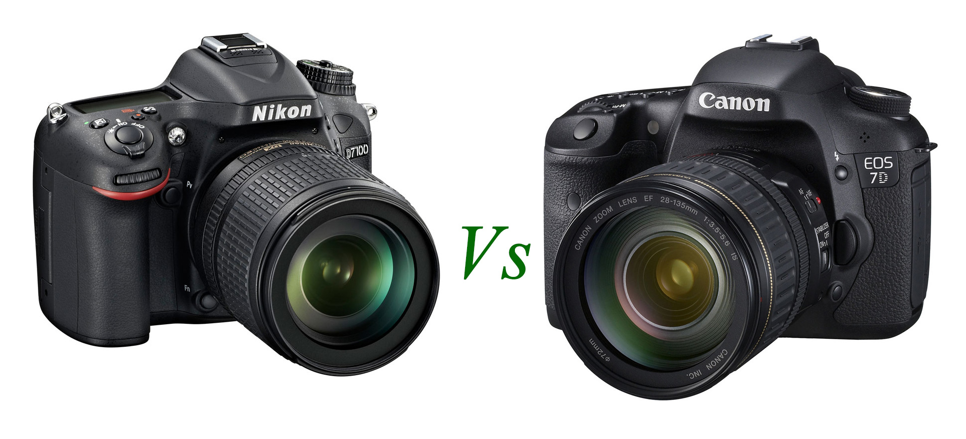 Here is a specs comparison on new released Nikon D7100 and Canon EOS