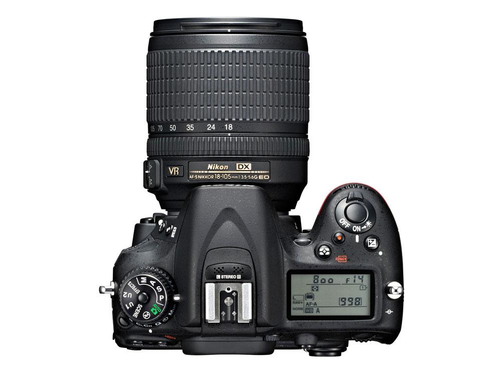 Nikon D7100_top