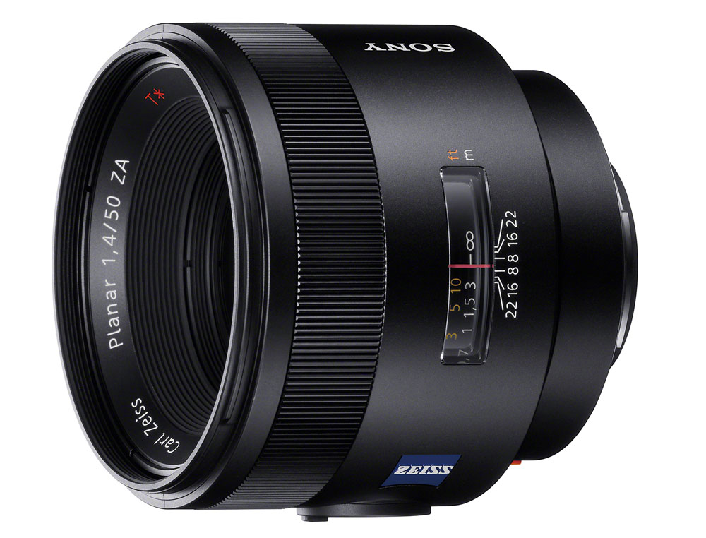 Sony Carl Zeiss Planar T 50mm F1.4 ZA SSM