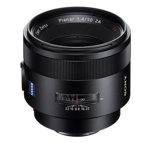 Zeiss 50mm f1.4 Planar ZA lens