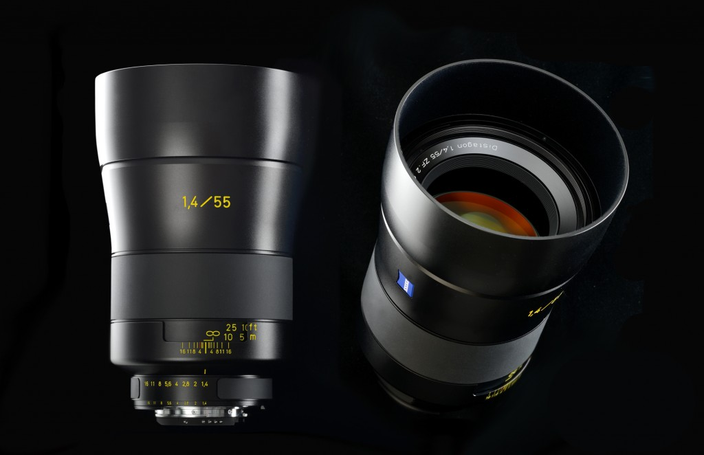 Zeiss 55mm f1.4 t