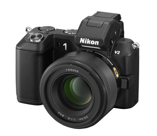 1 Nikkor 32mm f1.2 lens Nikon V2