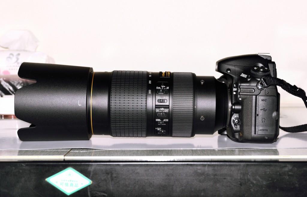 AF-S Nikkor 80-400mm f/4-5.6G on Nikon D800, via