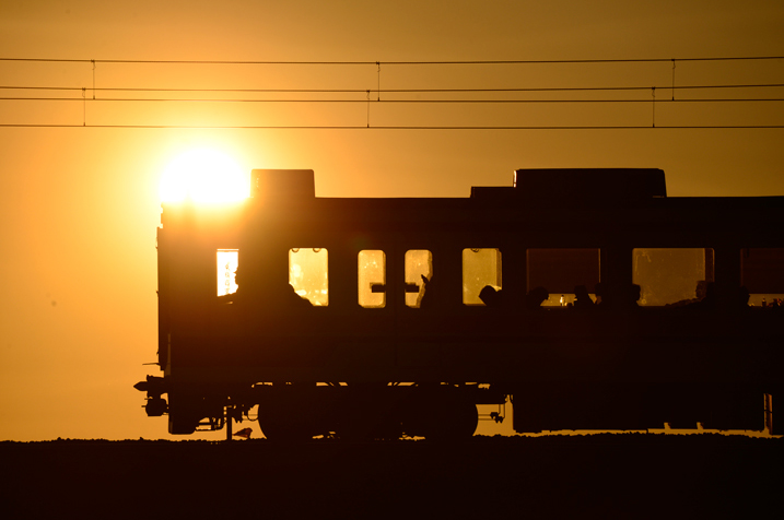 1/4000sec, f/9.5, 400mm This train image packs extra drama thanks to the sun enlarged by the telephoto compression effect. Silhouetted subjects are rendered sharply, while Nano Crystal Coat effectively reduces ghost and flare despite the sun's prominent place within the frame.