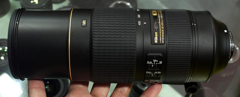 AF-S NIKKOR 80-400mm f4.5-5.6G ED VR out