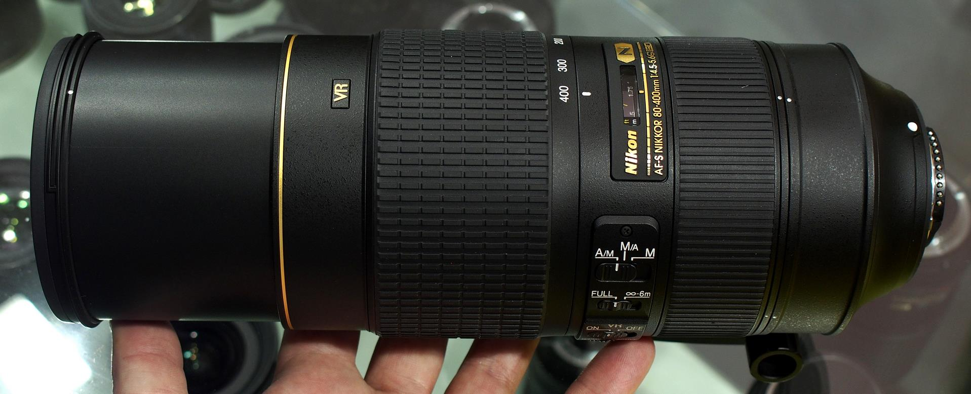 AF-S NIKKOR 80-400mm f/4.5-5.6G ED VR Lens DxOMark Tested ...