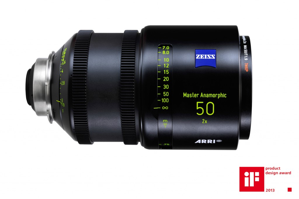 ARRI/ZEISS Master Anamorphic MA 50/T1.9 Lens