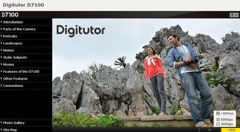 Nikon D7100 Digitutor
