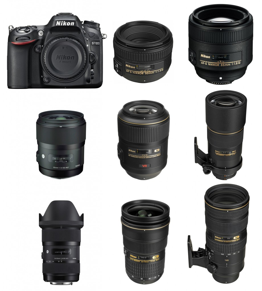 Recommended Best Lenses for Nikon D7100
