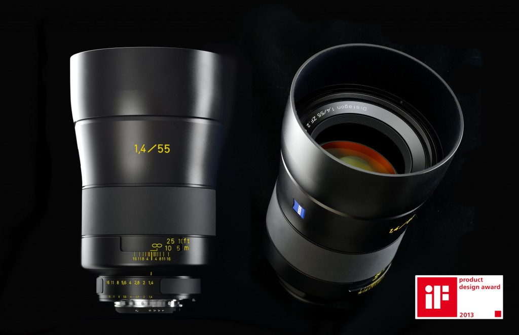 Zeiss 55mm f1.4 Distagon T* Lens