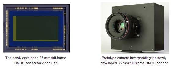 canon full frame video sensor