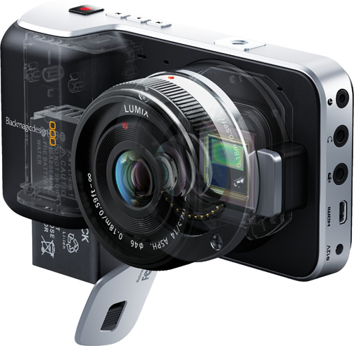 Blackmagic Pocket Cinema Camera 3