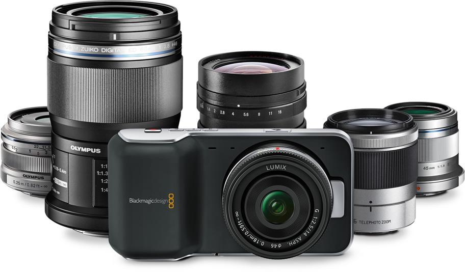 Blackmagic Pocket Cinema Camera 4