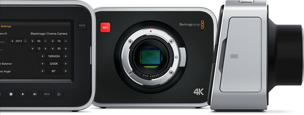 Blackmagic Production Camera 4K 3