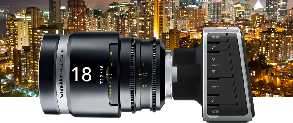 Blackmagic Production Camera 4K 5