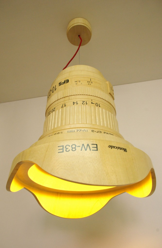 Canon EF-S 10-22mm lens lamp