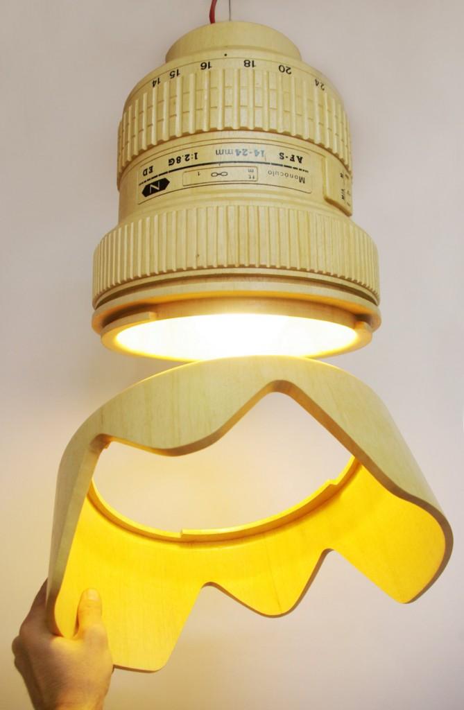 Nikon AF-S 14-24mm lens lamp