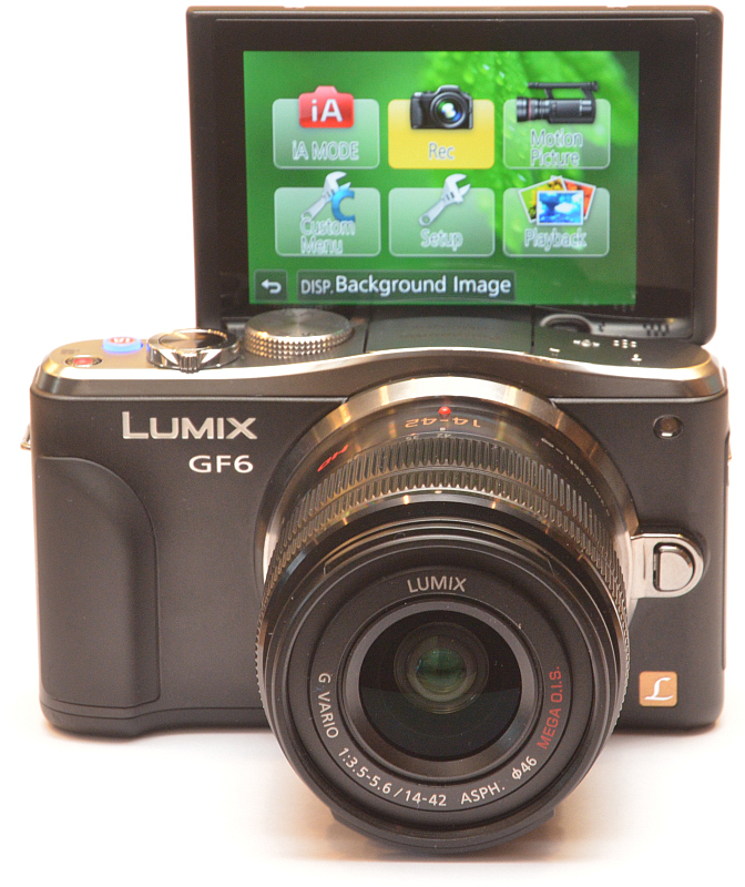 Panasonic Lumix DMC-GF6 1
