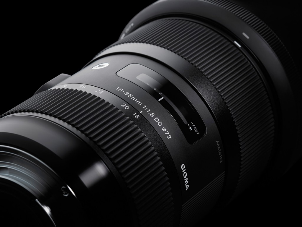 Sigma 18-35mm F1.8 DC HSM len 1
