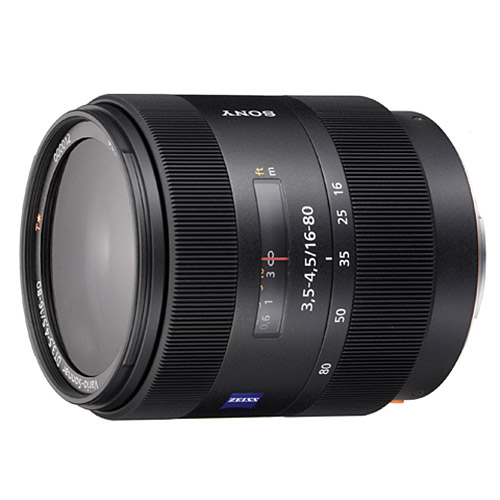 Sony 16-80mm f/3.5-4.5 Carl Zeiss Vario-Sonnar T* DT Standard Zoom Lens