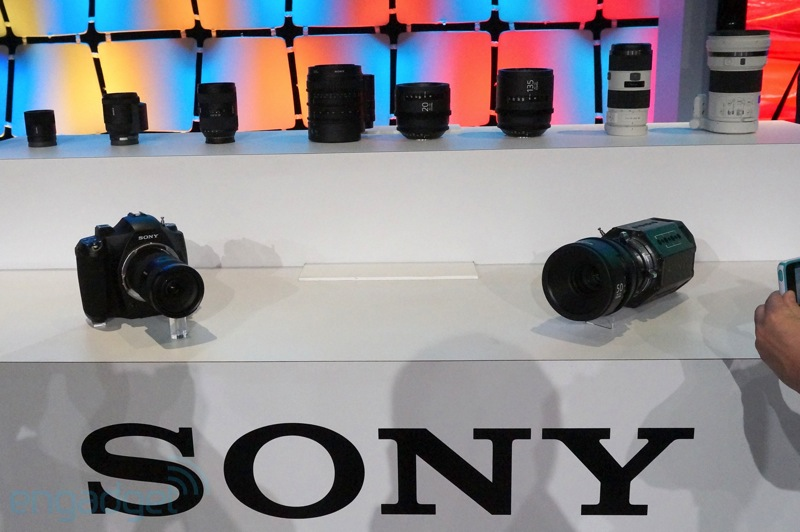 Sony-4k-camera-and-lens-prototypes