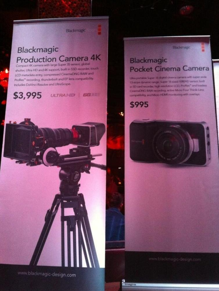 blackmagic 4k cinema pocket camera