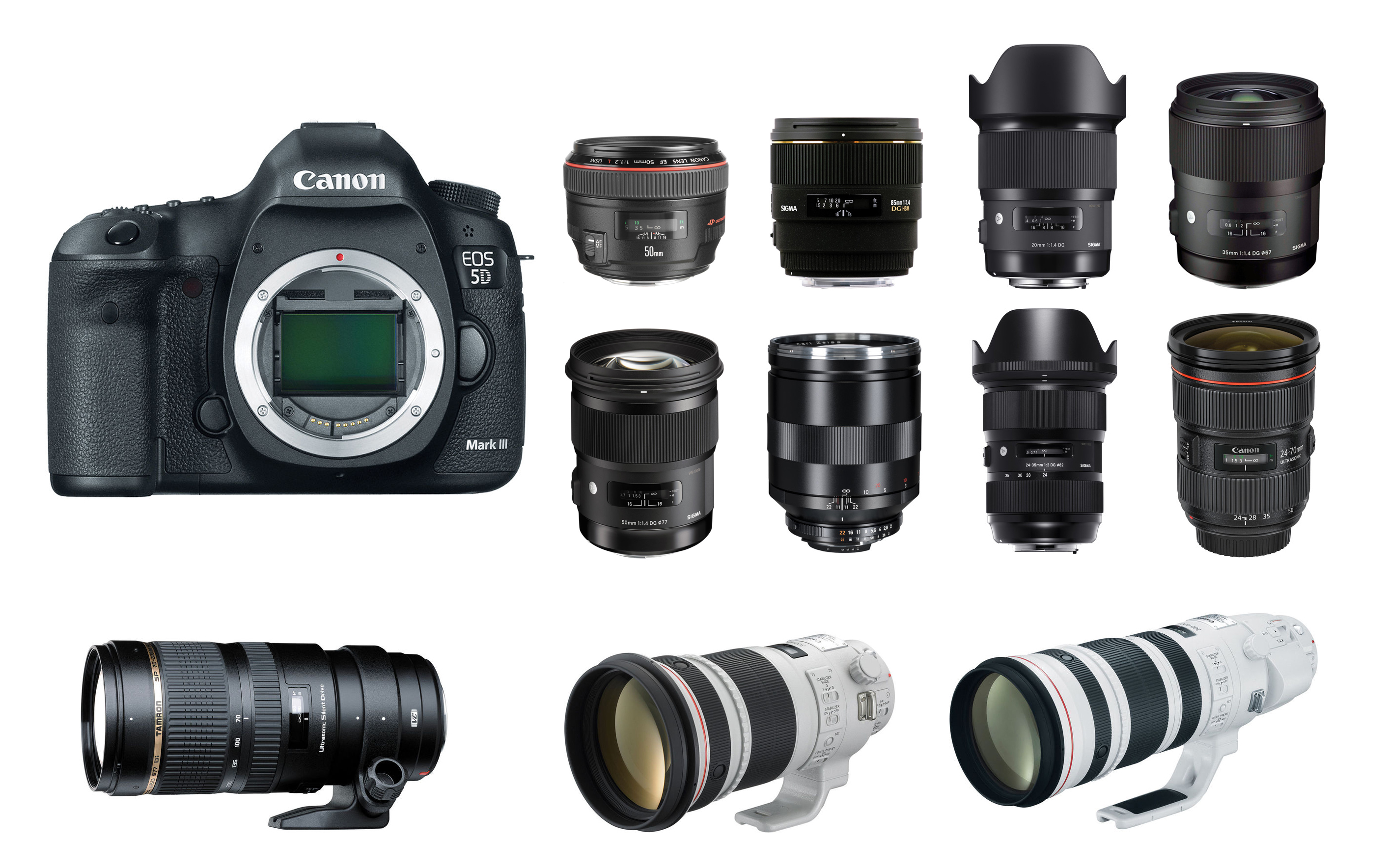best lenses for canon eos 5d mark iii camera news at. Black Bedroom Furniture Sets. Home Design Ideas