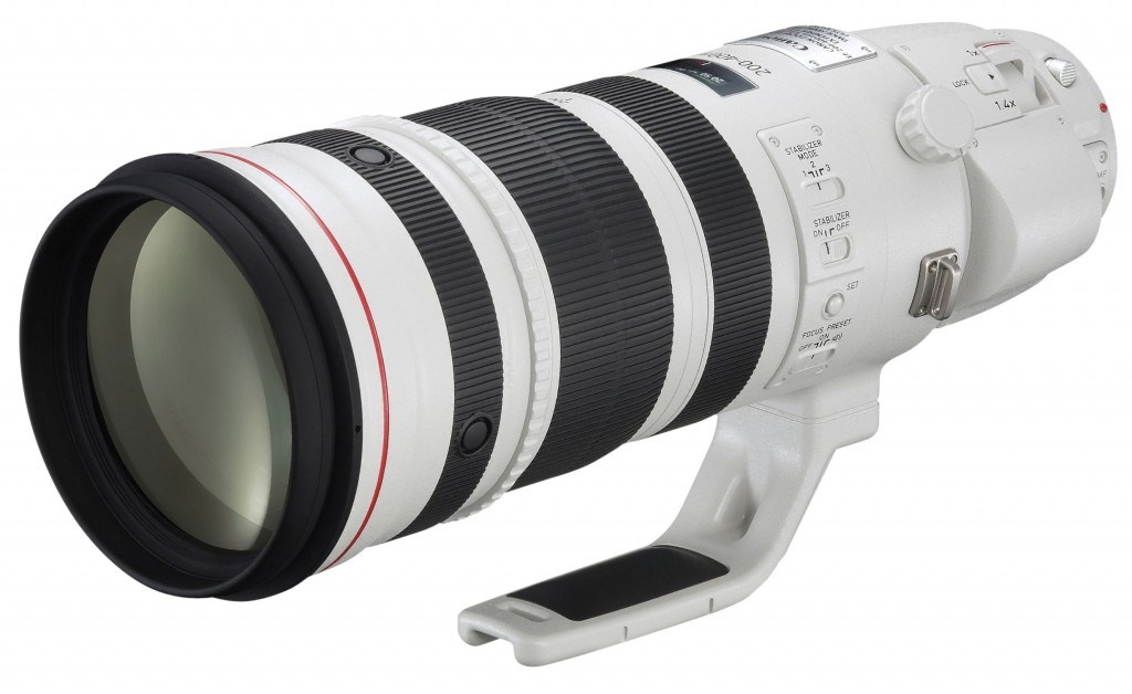 Canon EF 200-400mm f4L IS USM Lens Internal 1.4x Extender