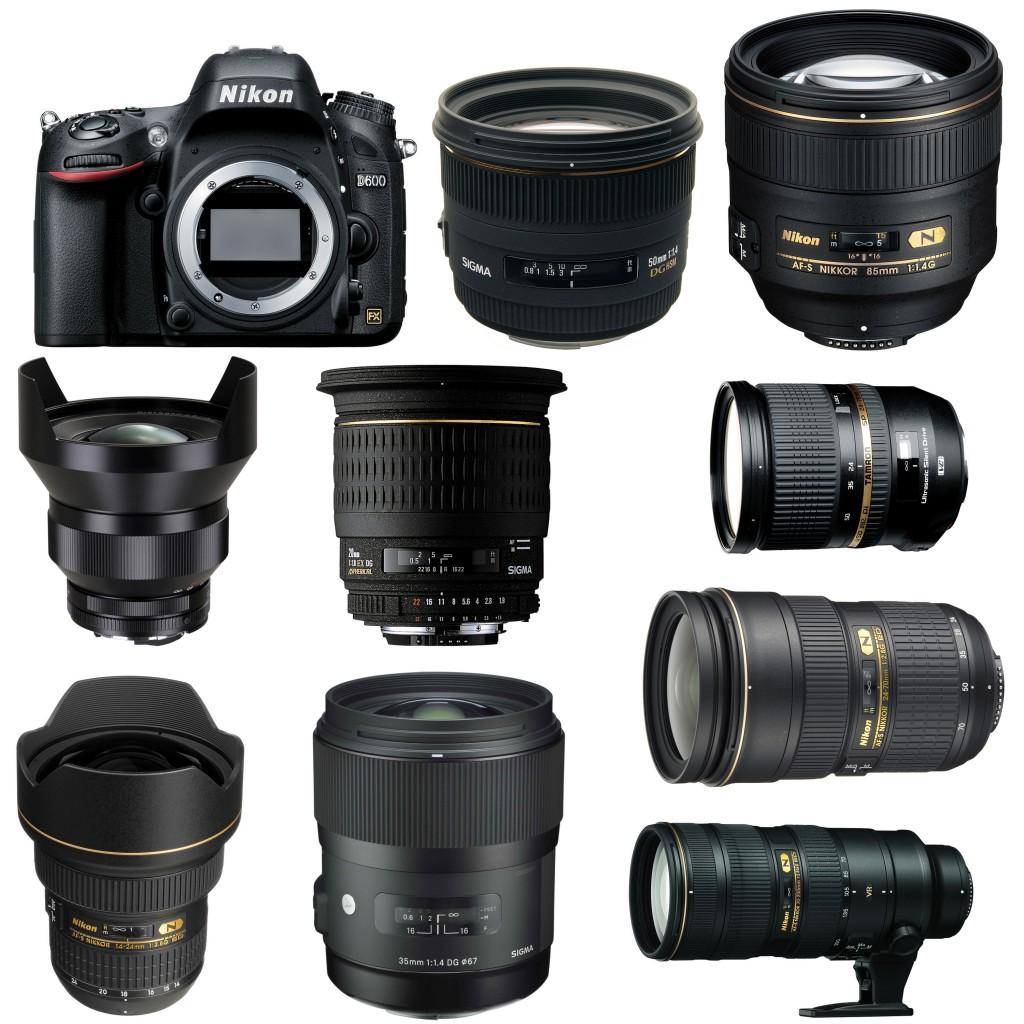Nikon D600 Recommended lenses