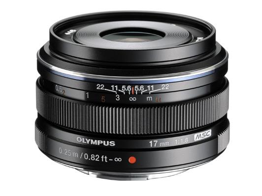 Olympus M.ZUIKO Digital 17mm f 1.8 Lens