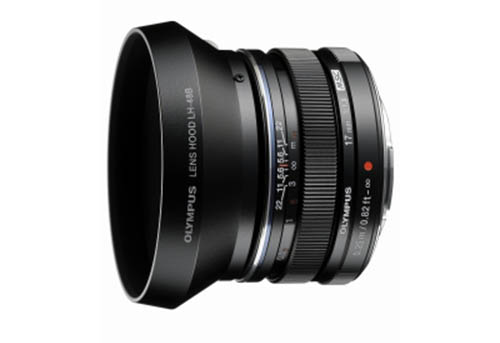Olympus M.Zuiko 17mm f 1.8 lens