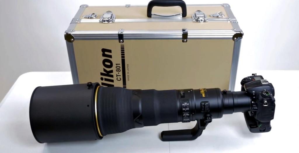 nikon 800mm f5.6e fl ed vr lens unbox