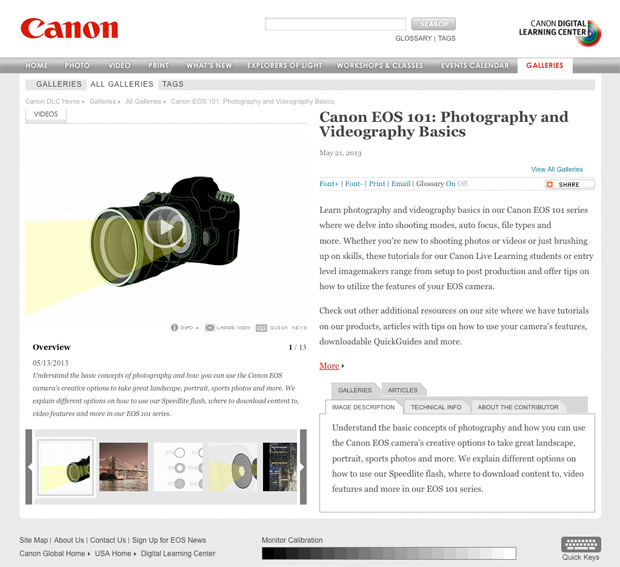 Canon-EOS-101-Video-Series
