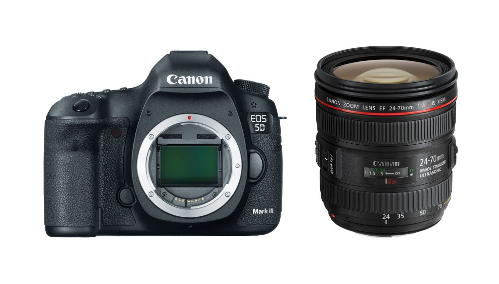 Canon EOS 5D Mark III with EF 24-70mm f/4L IS USM
