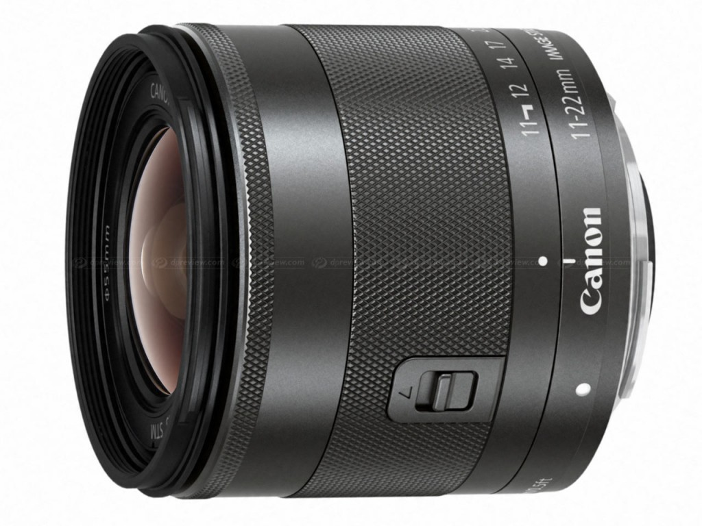 EF-M 11-22mm f 4 5.6 IS STM lens
