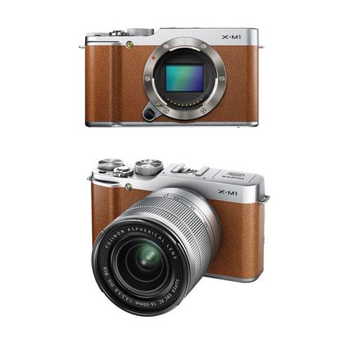 Fujifilm X-M1 Brown