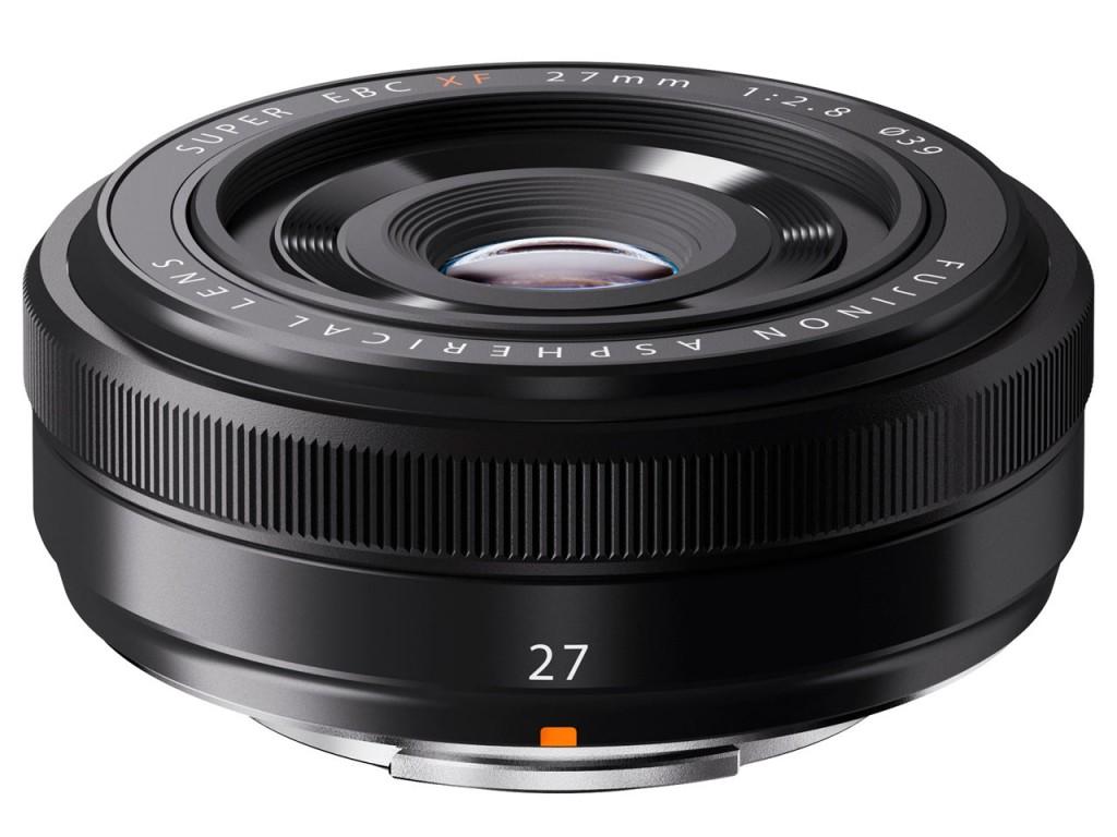 Fujifilm XF 27mm f 2.8 Pancake lens