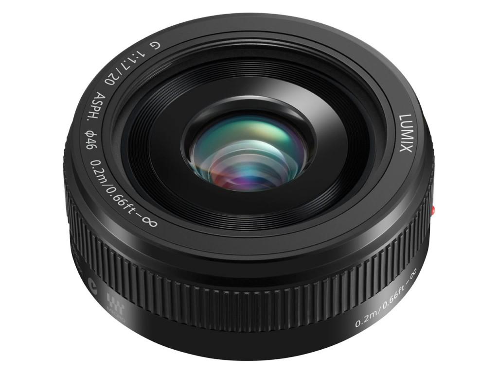 Panasonic Lumix G 20mm F1.7 II ASPH Pancake Lens