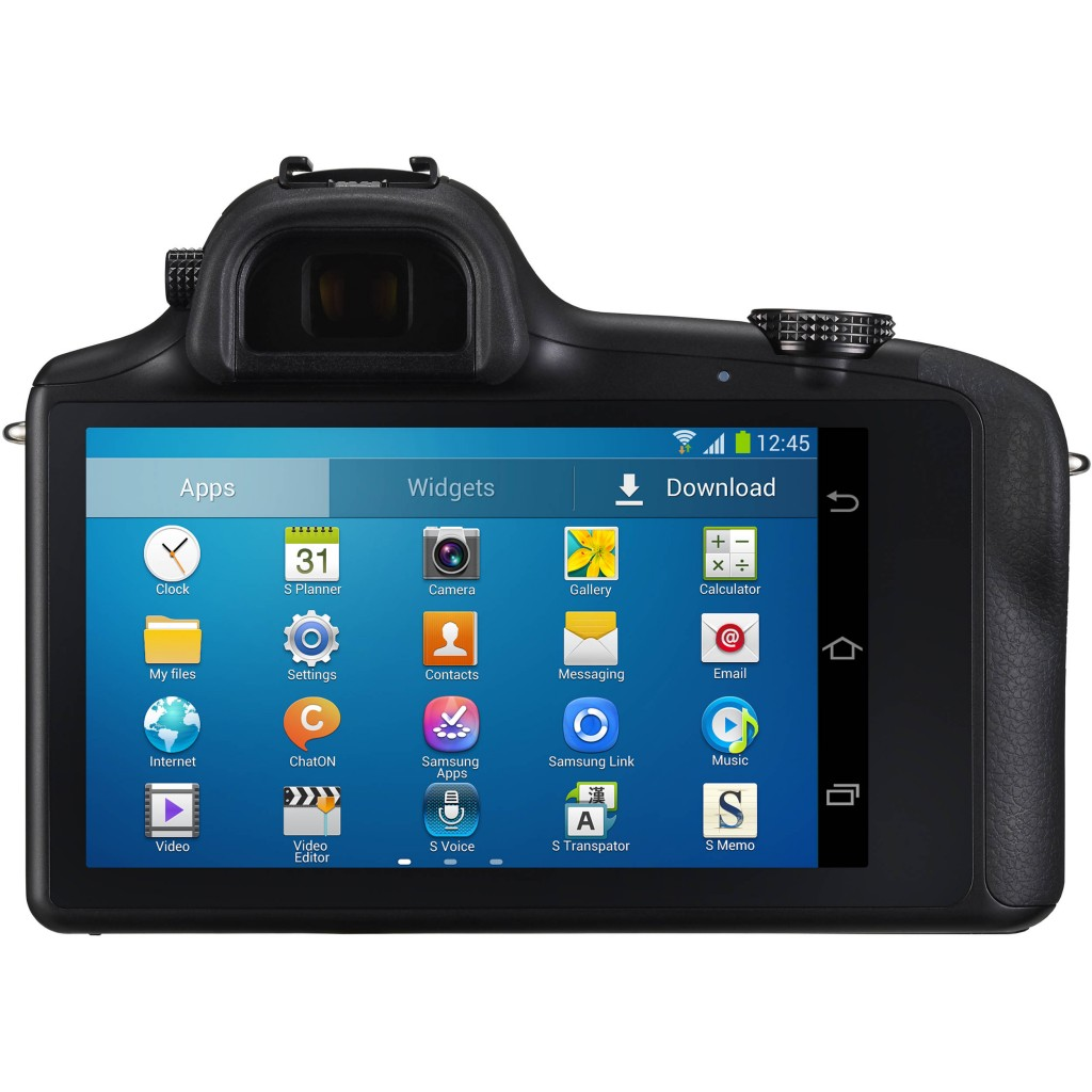 Samsung Galaxy NX Android Mirrorless Camera 2